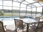 Windsor Hills Orlando Lakefront Villa Pool Deck / Lania & Spa