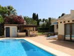 3 bed private/secluded Villa, Tosalet, Javea