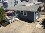 "Aerial view of the ""Lynn Ann Cottage"""