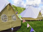 Ziggucamp Furnished Bell Tent