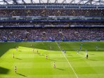 Chelsea's Stamford Bridge is only a short hop away.