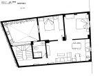 2 plano floor 2 etage