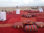 Camp in Morocco