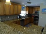 Granite and Stainless Kitchen