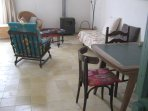 sittingroom and dining table