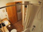 Bathroom and Laundry Closet