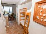 Hallway alcove with bunk set