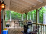Grill up some burgers and enjoy the North Carolina wilderness!
