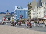 Located right on the boardwalk in Ocean City Maryland for all the fun and excited.