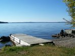 #104 Rustic camp on water`s edge