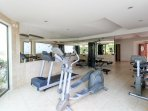 Our Fitness Room at Paseo Del Sol. Smaller yet does the job.