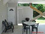 Outdoor Shower & Carport Area