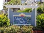 Island Oaks sign