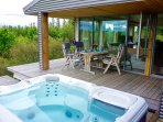 Hot Tub on a nice patio