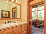Clearwater Townhome 86 - Bathroom 3 vanity