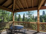 Clearwater Townhome 86 - Balcony with outdoor seating