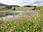Guests have access to mountain bikes, private hill lochs, game fishing and shooting