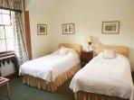 'Highland Dancer' twin bedroom