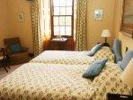 'Highland Cow' twin bedroom