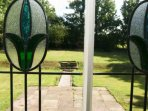 Set within 5 acres of grounds with a lawn to the rear and the side