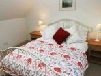 The charming and cosy first floor cottage bedroom