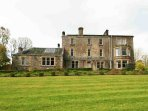 Traditional Mansion, large house holidays, near Melrose in Scotland, borders