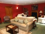 The Drawing room has loads of space and masses of comfy seats for serious relaxing