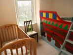 The nursery bedroom for a baby or small child
