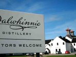Dalwhinnie Distillery is a nice outing in the locality