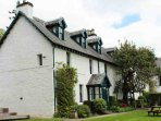 The Upmarket Lodge enjoys a southerly aspect with picturesque views over Perthshire
