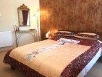 Stylish king size double bedroom