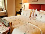 The Erskine suite on the 3rd floor is one of seven beautiful bedrooms
