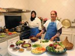 Cookery lessons are available