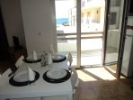 Spacious one-bedroom apartment 100 metres from the beach