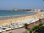 Grande plage de sable fin des Sables d'Olonne