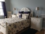 Second Master Bedroom is on 2nd floor and has a Queen Bed & Ensuite and a private terrace