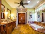 Downstairs Master Suite Bathroom