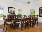 Dining Room, Stirling House,  Provo Golf Club, Grace Bay, Providenciales, Turks & Caicos Islands