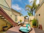 private spa area