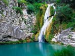 endless places to visit in Lefkada. Nydri waterfalls are just 6 klm away