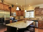 Crane Shores Chalet - fully equipped kitchen