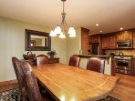 Discovery Chalet 256 - formal dining table