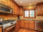 Discovery Chalet 256 - kitchen with stainless steel appliances