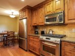 Discovery Chalet 256 - kitchen and breakfast nook