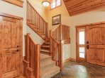Staircase Chalet 15 - Staircase landing
