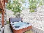 Staircase Chalet 15 - Private hot tub