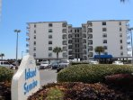 Island Sunrise Unit 469 Directly on the beach.  Walk to restaurants, shopping, entertainment!