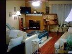 Beautiful, open, bright living area