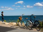 Cape Bike Trail 26 miles of scenic beauty just 5 min's away.We even supply bikes