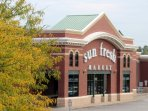 Sun Fresh is a full service grocery store, and it's located right around the corner.